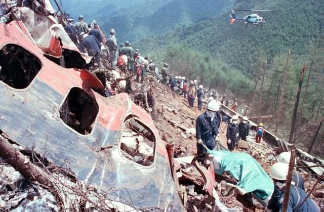 อุยัติเหตุทางเครื่องบิน, เจแปนแอร์ไลน์ 123