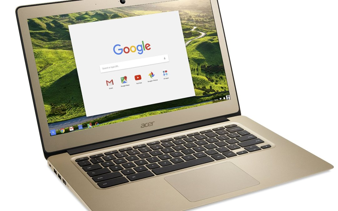 A Gold Chromebook?  Yes Please!