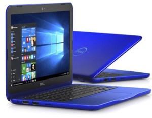Dell Blue Laptop