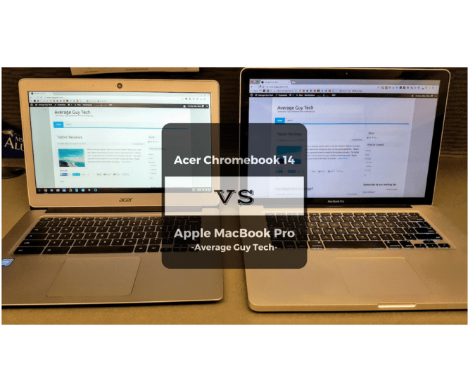 Chromebook vs Apple