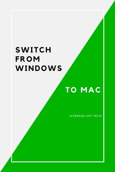 www.avgguytech.com - Switch from Windows to Mac