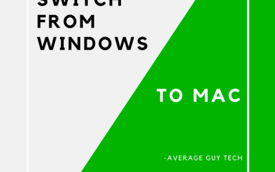 From Windows to the Mac