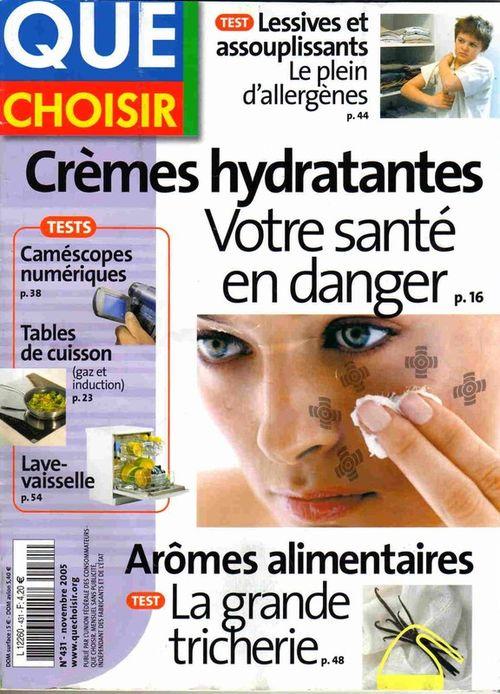"""Résultat de recherche d'images pour """"quechoisir magazine"""""""