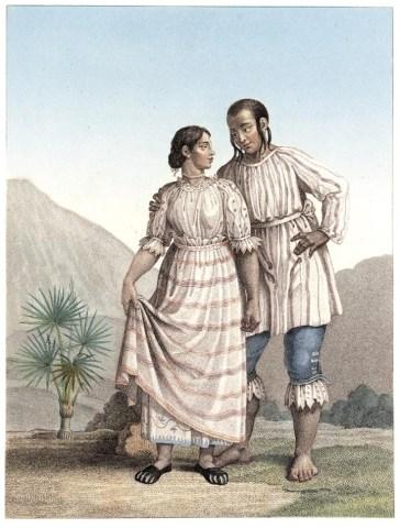 Trachten der Indianer von Michoacán -- Quelle: humboldt-portal.de