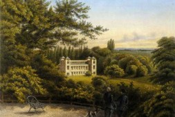 Blick auf Schloss Tegel