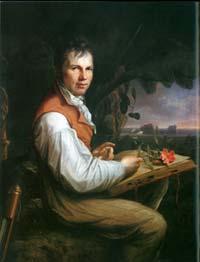 Alexander von Humboldt am Orinoko, Quelle: BBAW