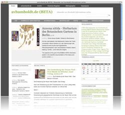 avhumboldt.de - Einstieg in Werk, Leben und Ideenwelt von Alexander von Humboldt