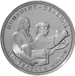 "Medaille ""Humboldt-Denkmal am Tegeler Hafen"""