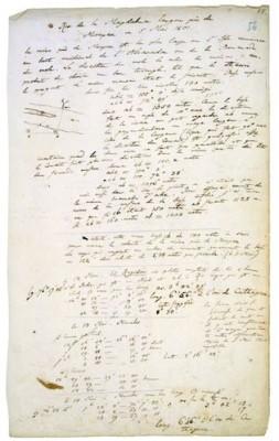 Tagebuch VIIa/b, 56r: Rio de Magdalena, 5. Mai 1801. © Staatsbibliothek zu Berlin - PK / Fotostelle