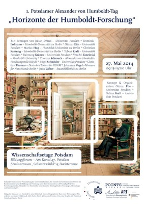 "27.05.2014, Tagung: ""1. Potsdamer Alexander von Humboldt-Tag"", Potsdam"