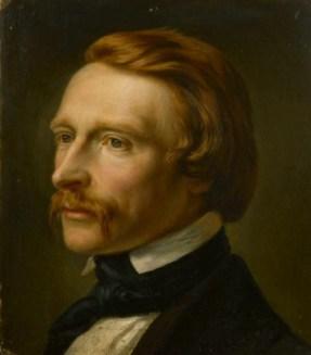 Foto: Carl Steffeck: Portrait Ferdinand Bellermann, um 1850 Öl auf Leinwand, Foto: © Stadtmuseum Berlin
