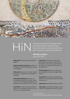 Cover von HiN XVIII, 34 (2017)