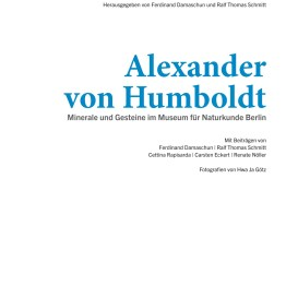 A.v. Humboldt, Minerale und Gesteine, Göttingen: Wallstein 2019, Titelei