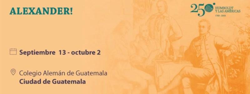 Alexander! Theaterstück am Colegio Alemán de Guatemala