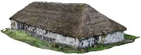 Die historische Berghütte am Fuß des Antisana, Ecuador © A. Noebauer, L. Salzer/ Univ. Bamberg
