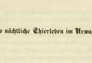 """03.12.2019 """"Alexander von Humboldt und die Sprache"""". Vortrag von Jürgen Trabant"""