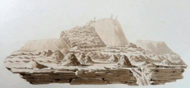 Plan du Volcan de Jorullo © Lindenau-Museum, Altenburg