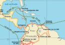 Karten zu Humboldts Reisestationen durch die amerikanischen Tropen (1799–1804)