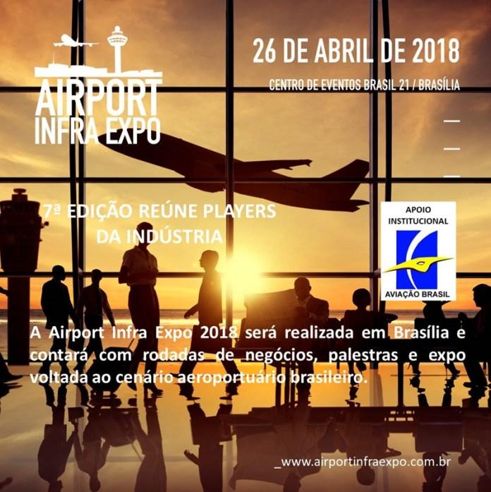 Airport Infra Expo, Airport Infra Expo 2018 debate Plano de Investimentos na Aviação Regional, Portal Aviação Brasil