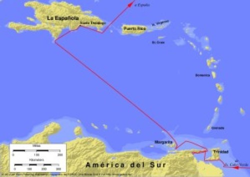 Columbus_third_voyage_es