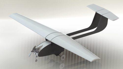 Render avión Caricare IV