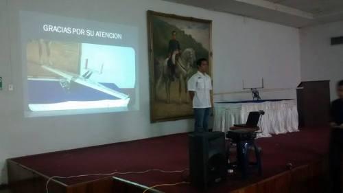 Presentación del Proyecto Titán III. Museo Aeronáutico.