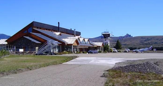 """Aeropuerto de Chapelco """"Aviador Carlos Campo"""""""