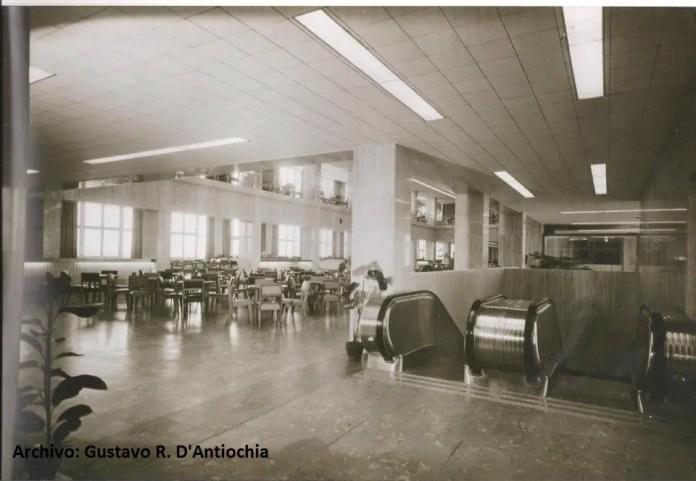 Primer Edificio Aeroestacion o actual Espigón B actual ICAI