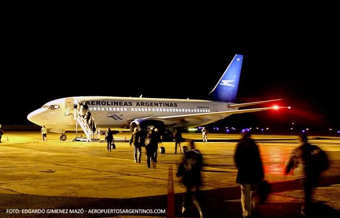 Aerolineas Argentinas - Boeing 737-700 LV-BYY