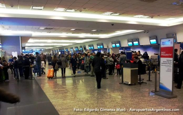 Aeroparque Jorge Newbery - Check in
