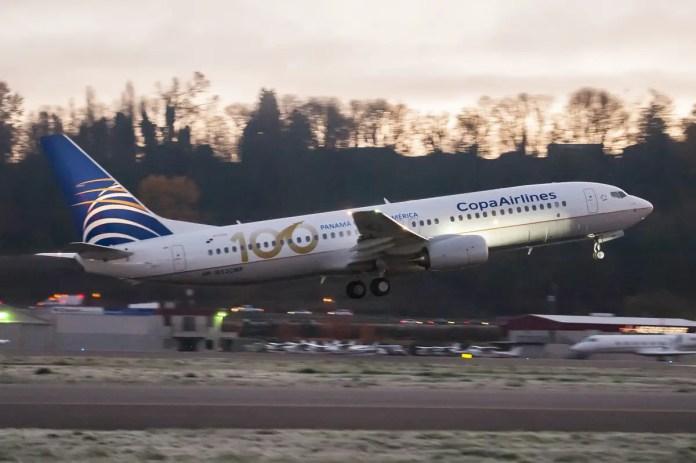 Boeing 737-800 HP-1852CMP de Copa Airlines