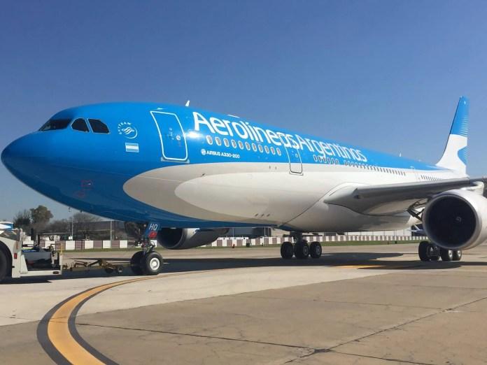 Aerolíneas Argentinas presentó su nuevo Airbus A330-200 | Aviacionline.com