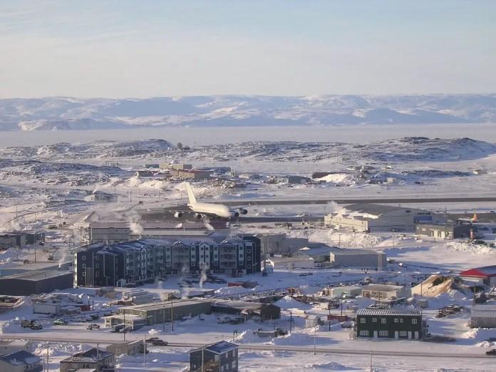 A380 en Iqaluit (Foto: Northern Pix / Wikimedia Commons)