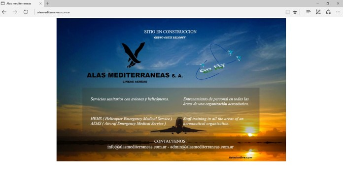 Alas Mediterráneas - sitio web