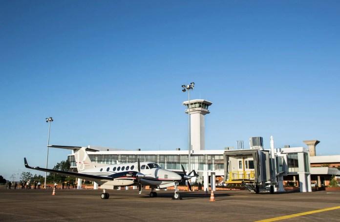 """Aeropuerto Internacional """"Guaraní"""" de Ciudad del Este, Paraguay"""