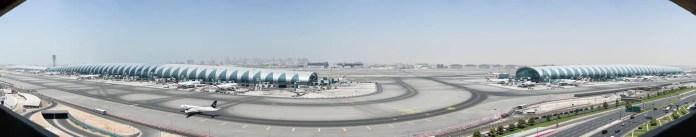 Aeropuerto de Dubai (Foto: Cristian Balo)