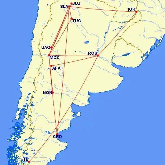 Norwegian Air Argentina - rutas desde Rosario Salta y Mendoza