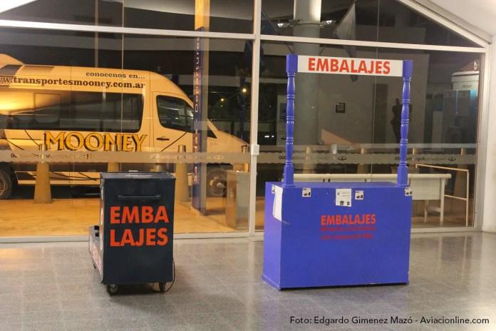 Aeropuerto Internacional Resistencia - Embalaje de equipajes