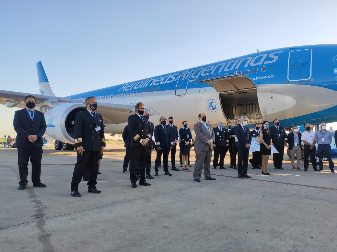 Partió rumbo a Moscú el A330 de Aerolíneas Argentinas que traerá las  vacunas contra el COVID-19 | Aviacionline.com