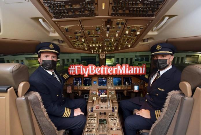 Emirates inaugural Miami 22JUL2021 03
