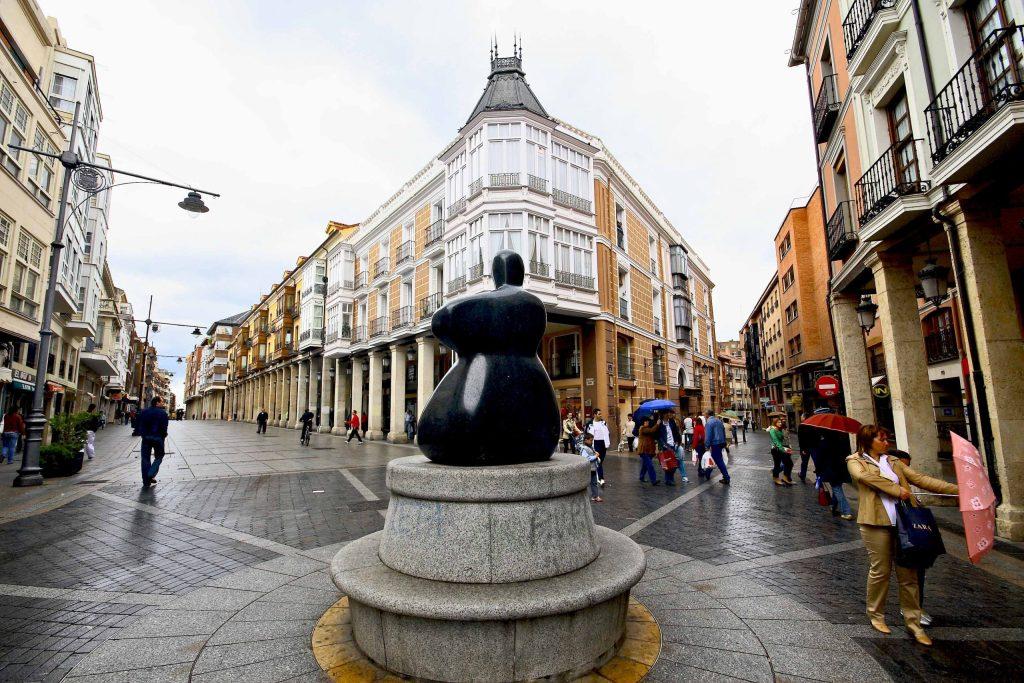 Un día en Palencia - Calle Mayor