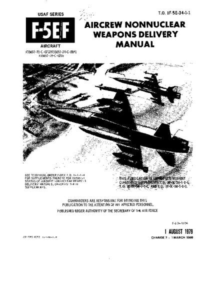 T.O. 1F-5E-34-1-1 F-5E/F Tiger II Aircrew Nonnuclear