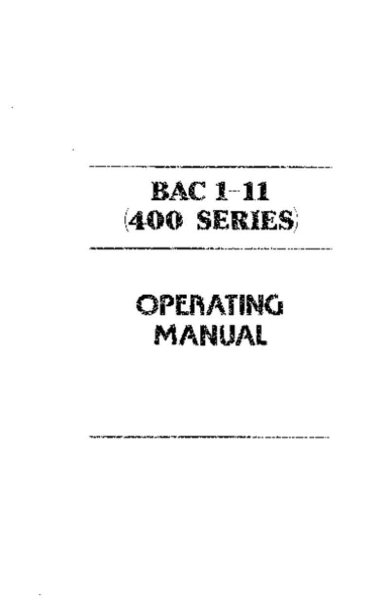 USAIR BAC-111-400 Operating manual