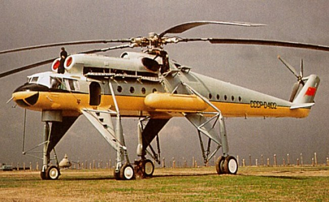 Mil Mi 10 Helicopter Development History Photos