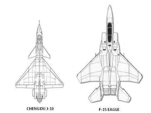 J-10 vs F-15 – Aircraft – Versus
