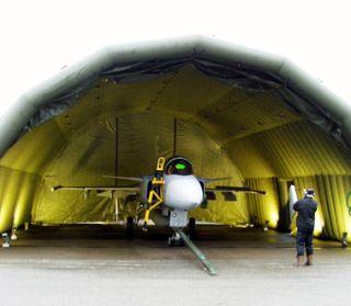 gripen hangar