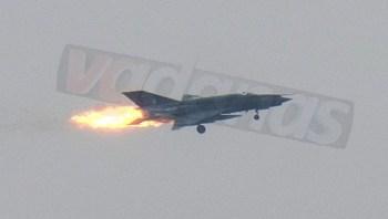 Mig-21-crashing