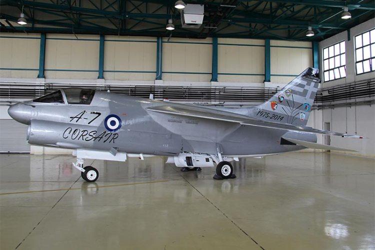 farewell a-7 corsair aeronautica militare greca