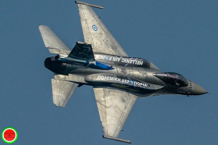 F-16C Zeus Demo Team Hellenic Air Force