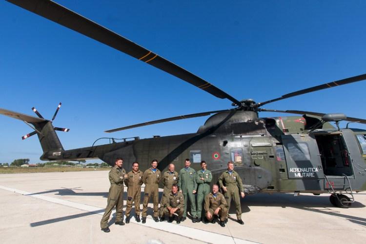 equipaggi di volo HH-3F e HH-139A ultimo volo